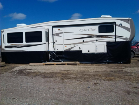 5th Wheel RV Skirting